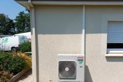 Unité extérieure climatisation bi split