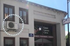 Unité extérieure au cabinet d'assurance Galant Laronze Calvet