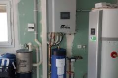 Module pompe à chaleur Air/eau + chauffe-eau thermodynamique