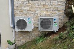 Unités extérieures climatisation réversible