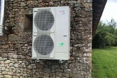 Unité extérieure pompe à chaleur Air/eau Mitsubishi