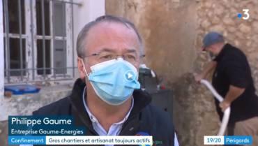 Reportage : Apparition au journal télévisé France 3 Nouvelle-Aquitaine